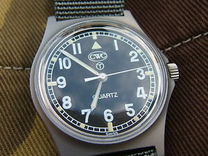 BRITISH-ARMY-G10-WATCH-CWC-GENUINE-ISSUE-MINT-CONDITION