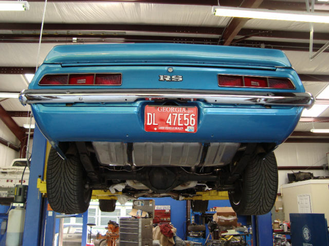 1969 Camaro LS3 restomod rotisserie restoration!