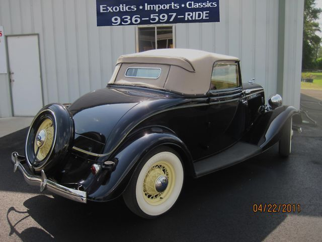"1934 FORD CABRIOLET ""RARE INVESTMENT QUALITY """