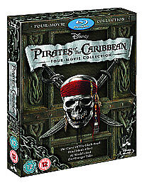 pirates-of-the-caribbean-1-4-boxset-Blu-Ray-NEW-SEALED-Quick-Post-UK-STOCK