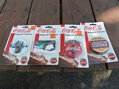 Four Always Coca-Cola Magnets Each Different   New In P