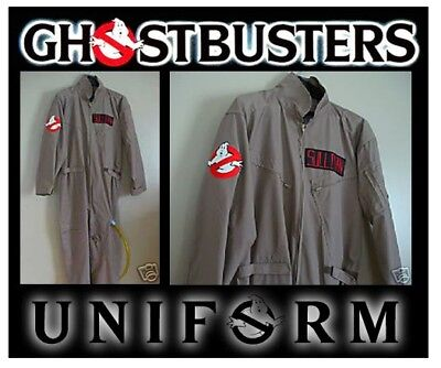 NEW Customizable Ghostbusters Costume ( goes great w/ Proton Pack , ghost trap )