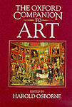 The Oxford Companion to Art, By ,in Used but Acceptable condition