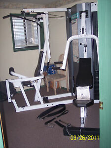 FOR MANUAL ONLY for Pacific Fitness Malibu weight machine universal home gym