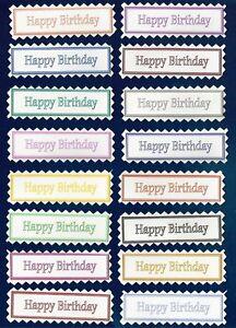 16 'Top Value' Happy Birthday Greeting Card Craft ...