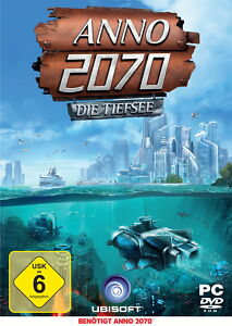 Anno 2070 Die Tiefsee DLC / Uplay PC Download Key / SOFORTVERSAND