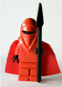 LEGO STAR WARS IMPERIAL ROYAL GUARD MINIFIG figure red vader toy minifigure