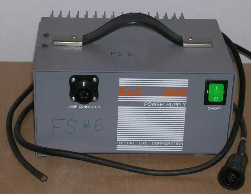 Electro-Lite Corp. ELC-2541 UV Lamp? Power Supply