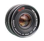 Konica Minolta Konica M-Hexanon AR 40 mm   F/1.8  Lens