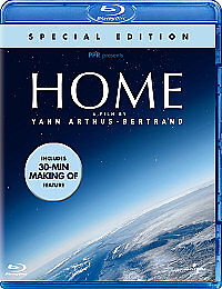 Home (Blu-ray, 2010) Yann Arthus Bertrand. Special Edition