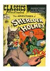 Sherlock Holmes Golden Age Classics Illustrated Comics