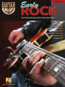 NEW EARLY ROCK GUITAR PLAY-ALONG VOLUME 11 BK/CD by Hal Leonard Corp.