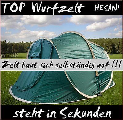 1a Top Wurfzelt Popup Zelt 2 Personen Camping Sekundenzelt Geschenk Neuheit Neu