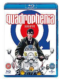 Quadrophenia Blu-ray 1979 Action Drama Region Free     ***NEW***