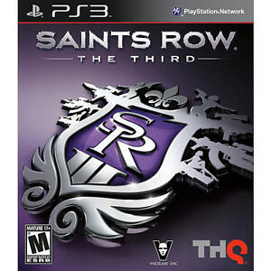 Saints Row: The Third  (Sony Playstation...