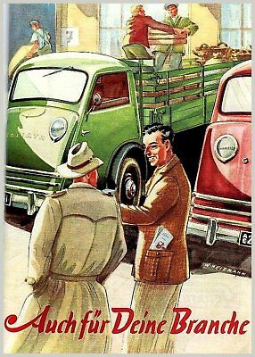 Plakat: Goliath LKW GV 800, 1951 (Lastwagen) farbig