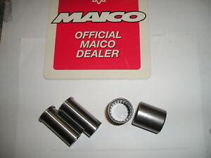 Maico-swing-arm-bushing-kit-fits-78-94-set-of-2-New
