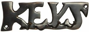 Antique-Finish-Key-Hook-With-The-Word-Keys-Detail