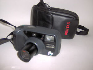 Pentax Zoom90 WR-35mm Film-Quartz Date-Wireless Remote-with Case