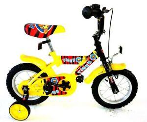 kinderfahrrad 12 zoll tiger fahrrad kinder rad gelb 12 ebay. Black Bedroom Furniture Sets. Home Design Ideas
