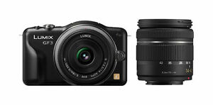 Panasonic Lumix DMC-GF3W 12.1 MP Digital...