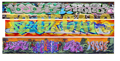 N Scale Custom Graffiti Decals #36 - Weather Your Box Cars, Hoppers, & Gondolas!
