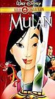 Mulan (VHS, 2000, Gold Collection Edition) (VHS, 2000)