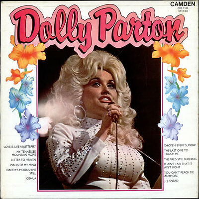 DOLLY PARTON Dolly Parton 1974 UK VINYL LP RECORD EXCELLENT CONDITION