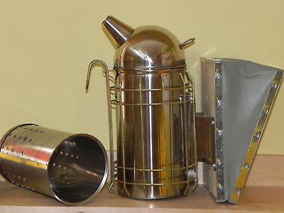 Smoker classic  Kessel 10cm b. Edelstahl,Imker,Imkerei,pipe,bee