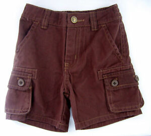 NWT-New-3-6-or-6-12-Month-Gymboree-Brown-Cargo-Shorts