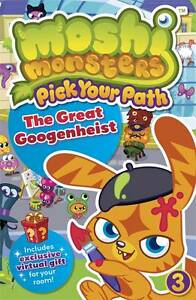 Moshi Monsters Pick Your Path 3: The Great Googenheist by Penguin Books Ltd (Pap