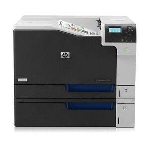 HP LaserJet CP5525N Vs. Lexmark Forms Printer 4227 Plus