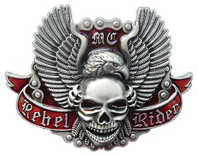 Motorcycle Insignia Belt Buckles