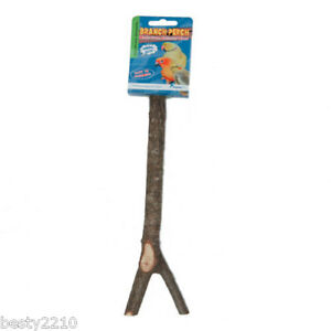 HAPPY PET NATURAL WOOD BRANCH PERCH - THREE SIZES