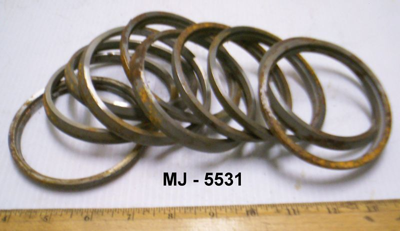 Lot of 10 - Bevel Pinion Spacers Rings for Military 5 Ton Truck