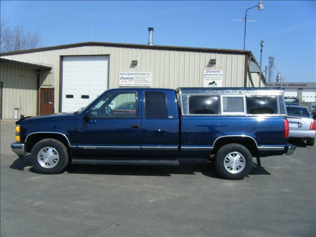 silverado ext cab 2wd no rust financing trade truck v-8
