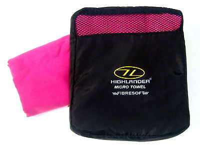 Pink Micro Fibre Luxury Xl Bath Towel Travel Sports Gym Camping Swimming Kit