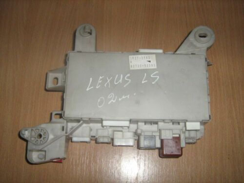 2002 LEXUS LS 430 / INTERIOR FUSE BOX 82730-50090