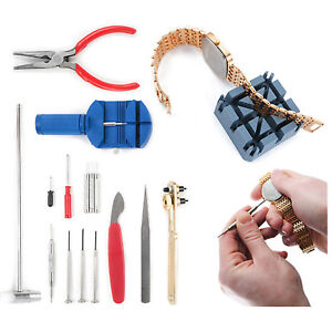 NEW-16-PIECE-WATCH-REPAIR-TOOL-KIT-WATCHBAND-LINK