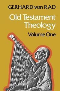 Von Rad, Gerhard .. Old Testament Theology 2 Vols.