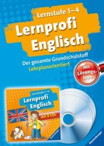 Lernprofi Englisch (Lernstufe 1 - 4) // Jheel Jonen // Buch+CD