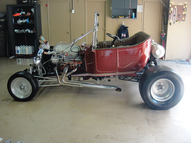 Ford : Model T 1922 Ford Model 'T' Bucket Hot Rod - Rebuildable Salvage Title ***NO RESERVE***