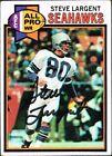 Steve Largent Original Football Trading Cards