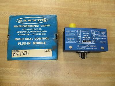 Banner B3-1500 Amplifier On/off Module 16018 B31500