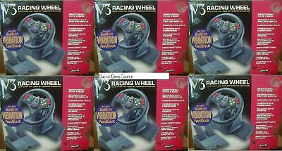 6 Wholesale Lot Of Nintendo 64 Steering Racing Wheels