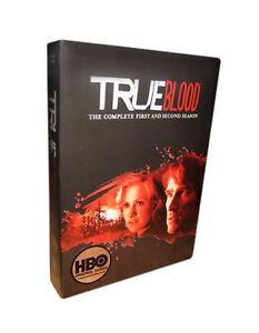 True Blood - Series 1-2 - Complete (DVD, 2010, 10-Disc Set, Box Set) - New And S