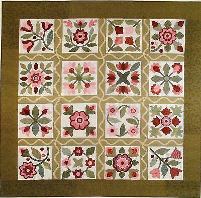 Heartfelt Stitches Applique Quilt pattern by Lori Smith