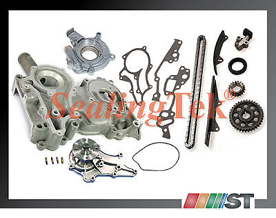 78-82 Toyota 20r 22r Timing Cover Chain Oil Water Pump Kit Car Truck Engine Gear