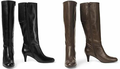 Eddie Bauer Women Tall Leather Dress Boots Sz 6-12 $239