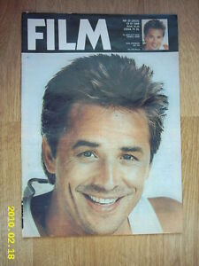 DON JOHNSON on cover Film 25/88 Polish magazine - Wałbrzych, Polska - DON JOHNSON on cover Film 25/88 Polish magazine - Wałbrzych, Polska
